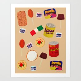 Dulces Mexicanos Art Print