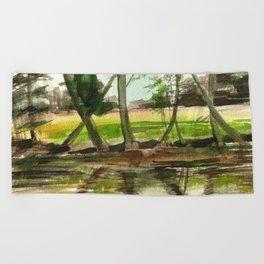 Sternberg Pond Beach Towel