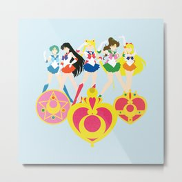 Sailor Soldiers Metal Print