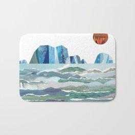 Sea of Ice Bath Mat