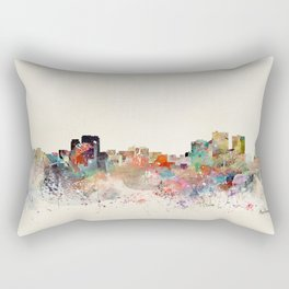 anchorage skyline Rectangular Pillow