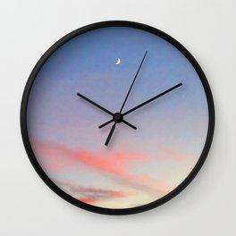 High Moon Wall Clock