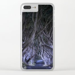 The Dark Hedges III Clear iPhone Case