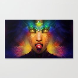 Vermilion Tongued Siren Canvas Print