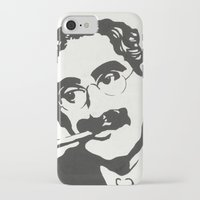 marx iPhone & iPod Cases featuring Mr. Marx Acrylic Pop Art by Kathryn Price