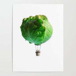 Iceberg Balloon Poster