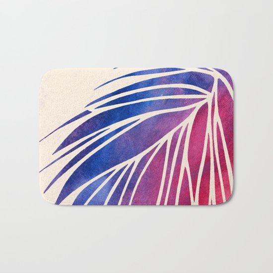 Watercolor Porcupine Bath Mat