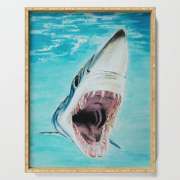 Rawr (Mako Shark) Serving Tray