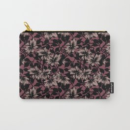 SILHOUETTE FLORAL Carry-All Pouch