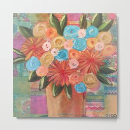 Forgotten Flowers Metal Print