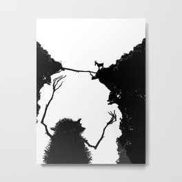The Troll Metal Print
