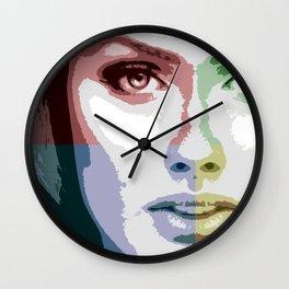 Quadrant Girl Wall Clock