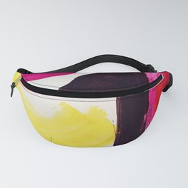 Neon Abstract Fanny Pack