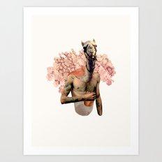 Camel Butch Art Print