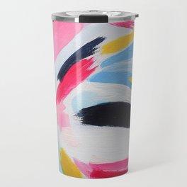 Whirpool of color Travel Mug