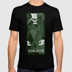 Frankenstein 1931 Mens Fitted Tee Black X-LARGE