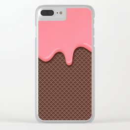 DRIPPING--CAKE Clear iPhone Case