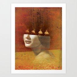 Social Life 15: The Dancer 2 Art Print