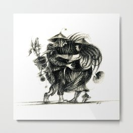 Vietnamese Dancers Metal Print
