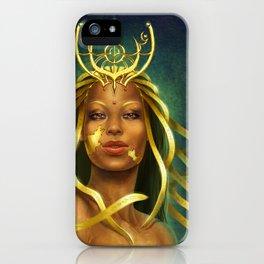 Golden godess iPhone Case