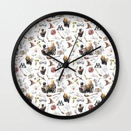 HP Pattern Wall Clock