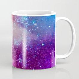 Pink Star Galaxy Painting Coffee Mug