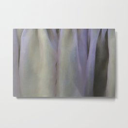 Textured fabric for background and texture Metal Print