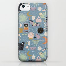 Lunar Pattern: Blue Moon Slim Case iPhone 5c