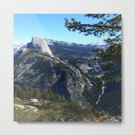 Imposing Glacier Point View Metal Print
