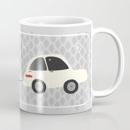 vintage trailer in red Coffee Mug