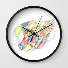 You Are the Wind to Me Wall Clock