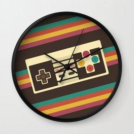 Retro Video Game 2 Wall Clock