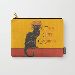 Tournee du Chat Grumpy... Carry-All Pouch