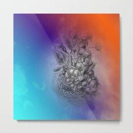 fruit basket -3- Metal Print