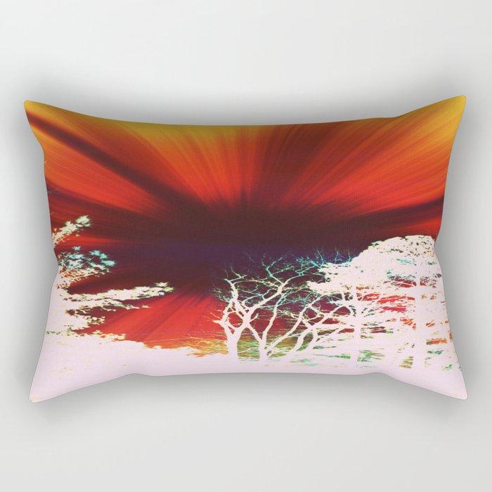 Vintage Sky Rectangular Pillow
