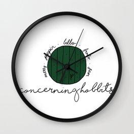 North Farthing Folk Wall Clock