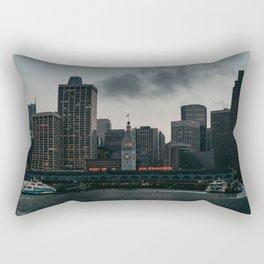 Port of San Francisco Rectangular Pillow