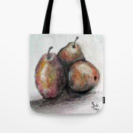 Three of Pears Tote Bag
