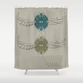 Pharaoh's Symbol Shower Curtain