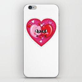 Happy Hearts iPhone Skin