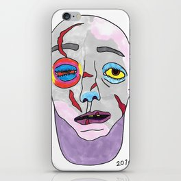 Beaten Up iPhone Skin