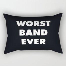 Worst Band Ever Rectangular Pillow