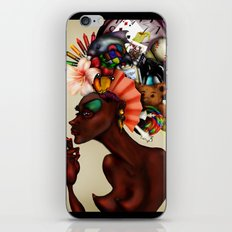 Junk Pile iPhone & iPod Skin