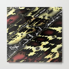 Modern abstract 12193 Metal Print
