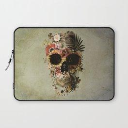 Garden Skull Light Laptop Sleeve