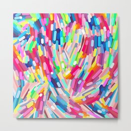 Let's take it over the Rainbow Metal Print