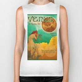 Venus - A Mucha Style Art Nouveau Interpretation Biker Tank