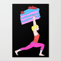 balance Canvas Prints featuring Balance by Tyler Spangler