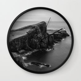 Neist Point Isle of Skye Wall Clock