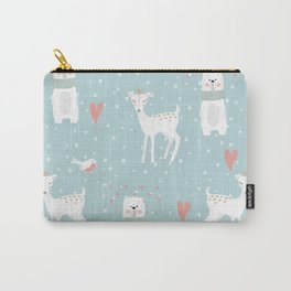 Fawn and Bear Carry-All Pouch